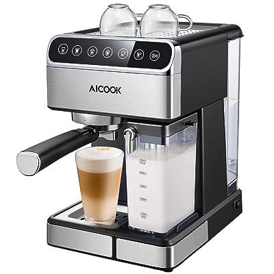 Aicook Espresso Machine, Barista Espresso Coffe...