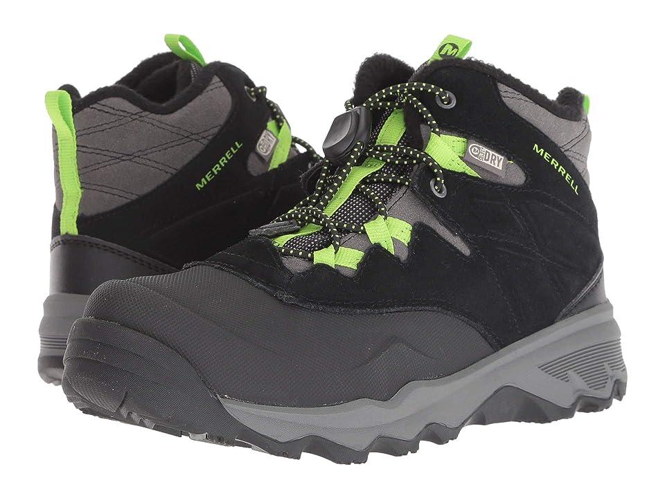 Merrell Kids Thermoshiver (Big Kid) (Grey/Green) Boys Shoes