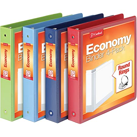 /4/Ring Binder Round liderpapel CA55/