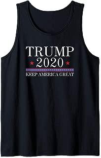 Vote Donald Trump 2020 Keep America Great Tank Top