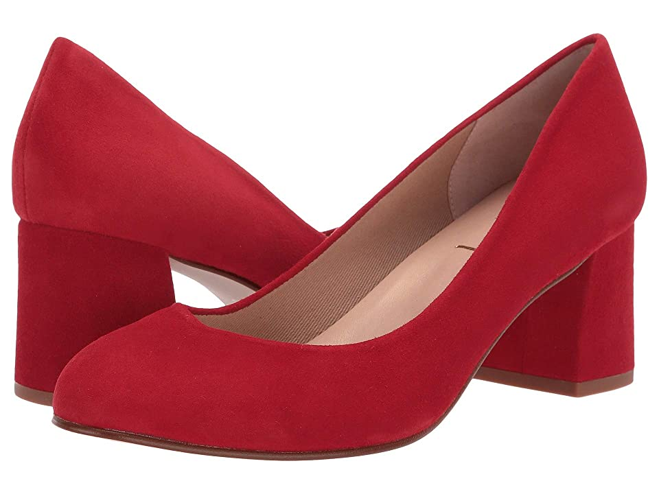 French Sole Trance (Red Suede) Women