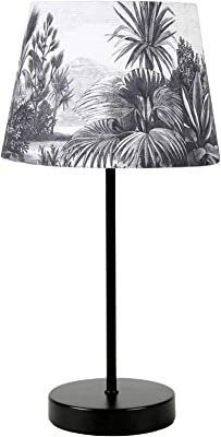 Ostaria Lampe, noir et blanc