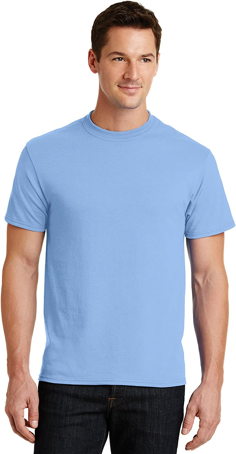 Logotastic UnisexAdult Rmk Port & Company  Core Blend Tee  Aquatic blueee  (CASE Pack of 72)