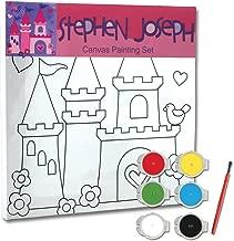 Stephen Joseph Craft Canvas Set Princess/Castle