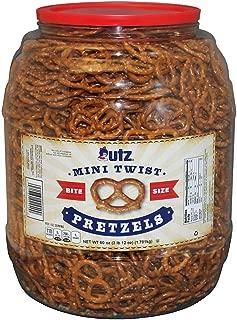 Utz Mini Twist Pretzels (60 oz.) (pack of 2)