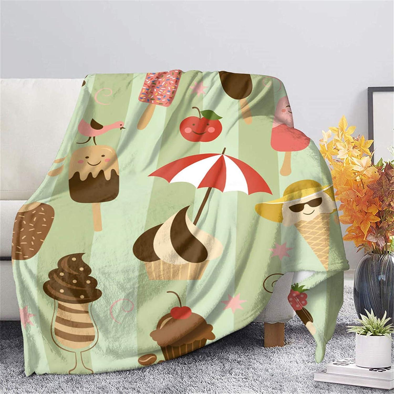 FUSURIRE Cute Flannel Blankets for Machine Women M Washable gift Kids Ranking TOP11