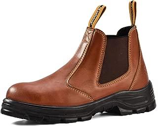 SAFETOE Steel Toe Work Boots for Men Women Waterproof Safety Boots Lightweight Industrial & Construction Work Shoes