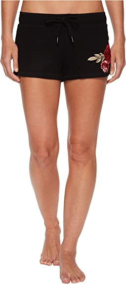 P.J. Salvage - Rock 'N Rose Graphic Shorts