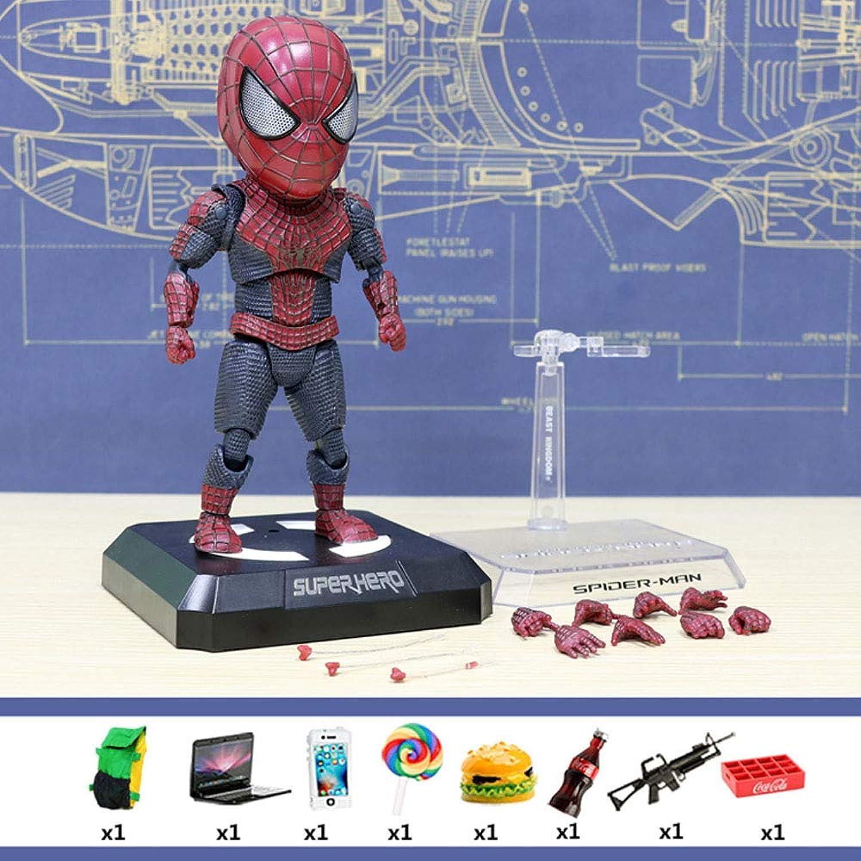 Decddae Marvel Avengers 4 Spider-Man Actionfigur Modell Bewegliche Kinderspielzeug Ornamente Induction Base