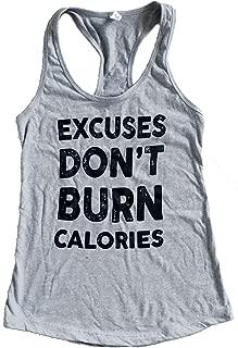 The Bold Banana Women's Excuses Don't Burn Calories Tank Top