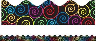 Carson Dellosa Rainbow Swirls Borders (1259)