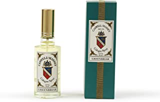 Caswell-Massey Greenbriar After Shave – Soothing Aftershave With Petitgrain, Mandarin and Sage, Made In USA, 3 Ounces