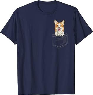 Cute Corgi In your Pocket T-Shirt Fun Puppy Gift Shirt