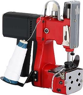 VEVOR Bag Closer Closing Machine 110V Portable Sewing Electric Stitcher Knitted Bag Sealing Closing Packing Machine Closer for Woven Snakeskin Bag Sack (110V)