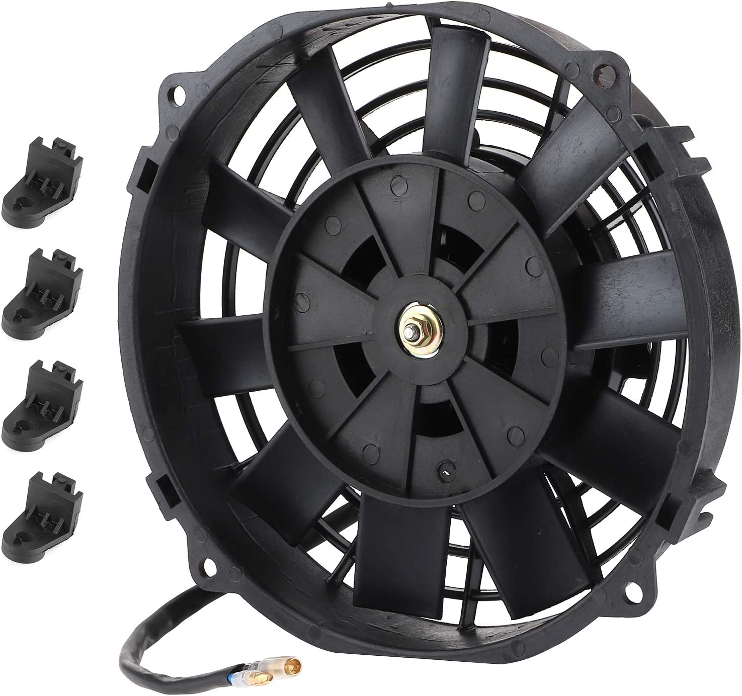 Car Electric Fan Ranking TOP18 Universal Ranking TOP9 8in Co for Radiator Auto
