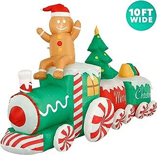 10 inflatable christmas tree