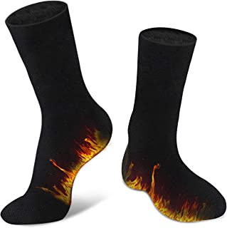 SIPU 2 Pairs of Winter Thermal Socks For Men Boy, Women Heated Insulated Boot Winter Socks for Hiking, Cold Weather
