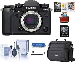 Fujifilm X-T3 4K Mirrorless Digital Camera, Black (Body Only), Bundle with Lowepro Camera Bag, 32GB SD Card, Corel Mac Sof...