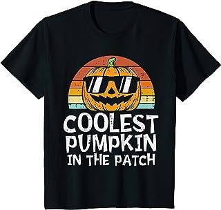 Kids Coolest Pumpkin In The Patch Toddler Boys Halloween...