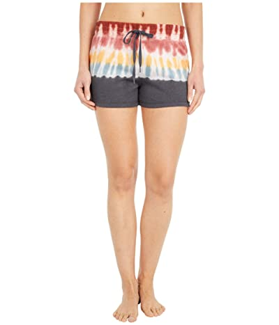 P.J. Salvage Groovy Kind Of Love Shorts (Charcoal) Women