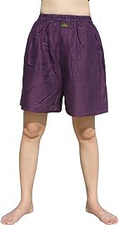 RaanPahMuang Silky Rayon Boxer Shorts Briefs Underwear Loose Boxers