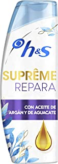 Head & Shoulders Supreme Repara Champú Anticaspa - 2 Recipientes de 300 ml - Total: 600 ml