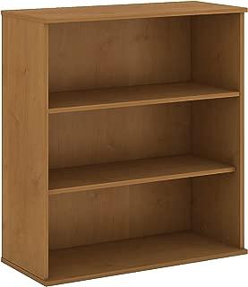 Bush Business Furniture 48H 3 Shelf Bookcase in Natural Cherry