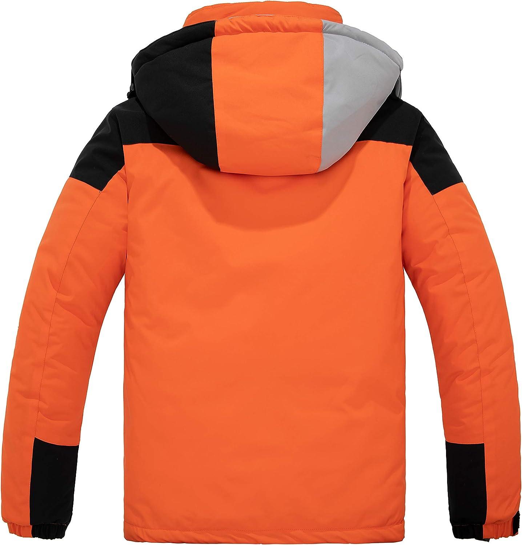Skieer Mens Waterproof Ski Jacket Windproof Snowboarding Jackets Winter Snow Coat Warm Raincoat