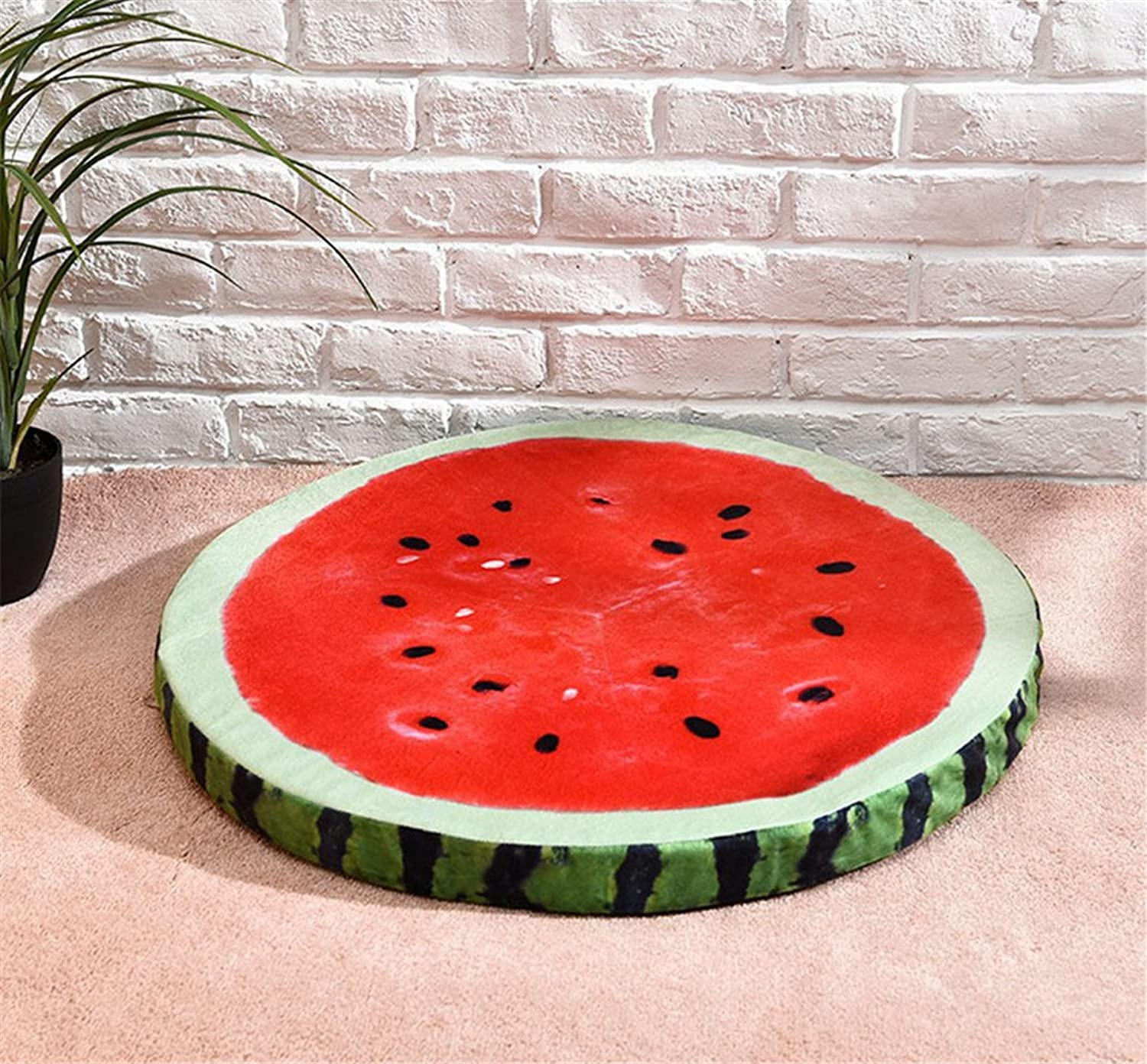 Classic Creative Pet Fruit Pad Dog Removable Nest Mat Spring Summer,Red,M