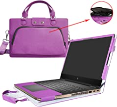Spectre X360 13 Case,2 in 1 Accurately Designed Protective PU Cover + Portable Carrying Bag For 13.3