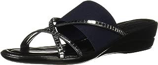 Easy Street Tuscany Women's Addilyn Slide Sandal, Navy, 10 N US