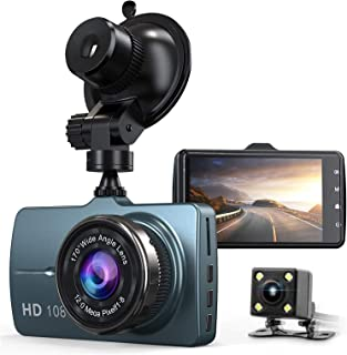Dash Cam Front and Rear Car Camera 1080P 3.2