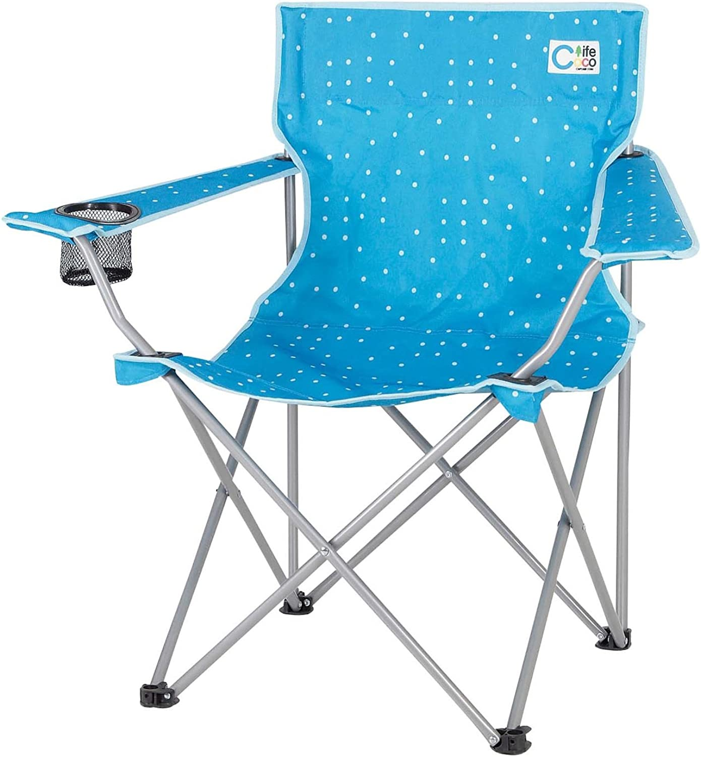 Captain Stagg (CAPTAIN STAG) here Life Lounge Chair blueee UC1536