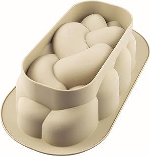 Silikomart 8051085279517 Treccia Bread Mould, Grey