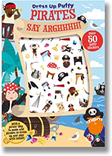 Dress Up Puffy Stickers Pirates Say Arghhhh!