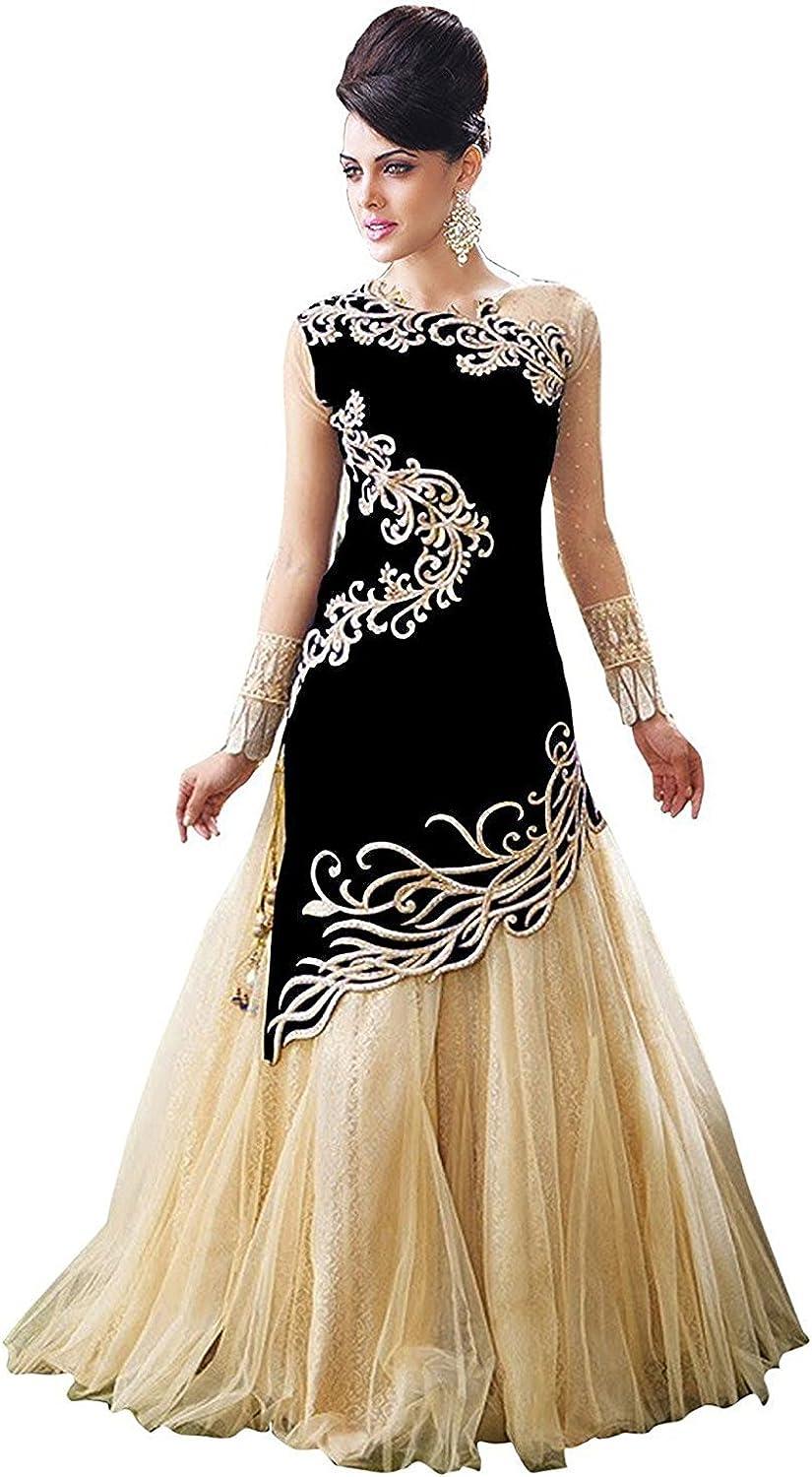 Indian Suit Designer Women Salwar Kameez Bollywood Party Anarkali Dress