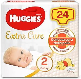 Huggies baby, maat 2 (3-6 kg), 24 luiers