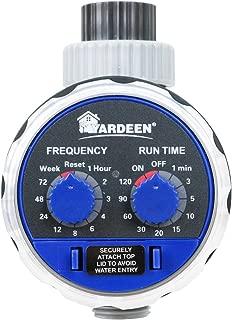 Best rain barrel drip irrigation timer Reviews