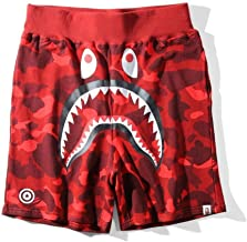 Griffith Nancy Hot 17SS A Bathing Ape Camo Shorts Shark Prints Cool Bape Shorts S-XXL3