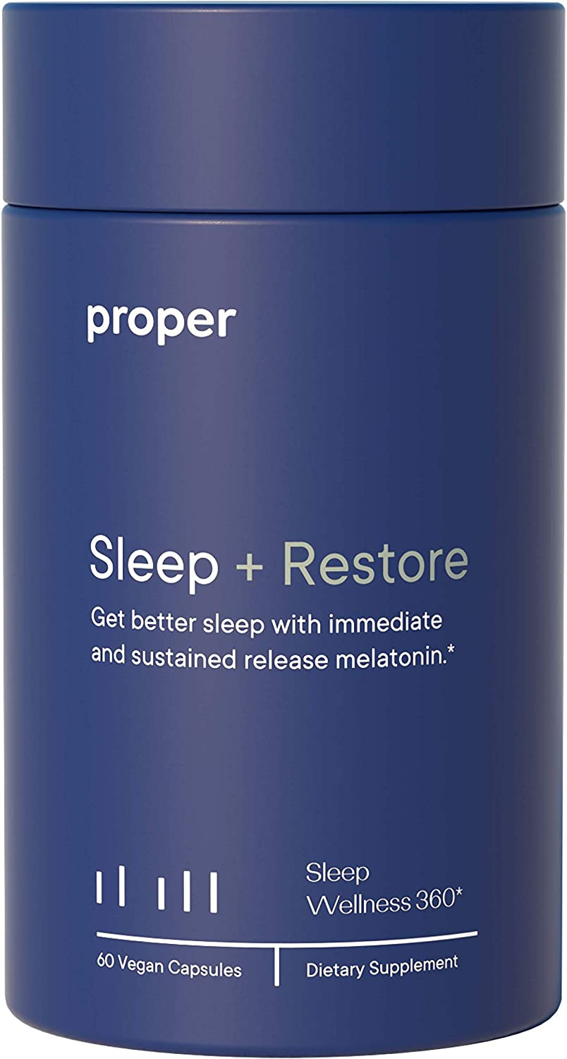 Proper lowest price Sleep + Restore - Aid Melatonin Natural Healthy and NEW