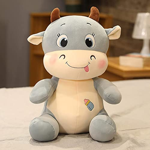 """wholesale Cow Plush Pillow Cute Soft Stuffed Animals outlet sale Doll Toy Soft Hug Pillow Plush Toy Gifts for high quality Valentine's Gift, Christmas, Sofa Chair Home Decoration, 9.8"""" sale"""