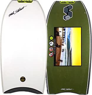 Mike Stewart Science Style Loaded PP CT 40 2016 Bodyboard - White Deck, Black.