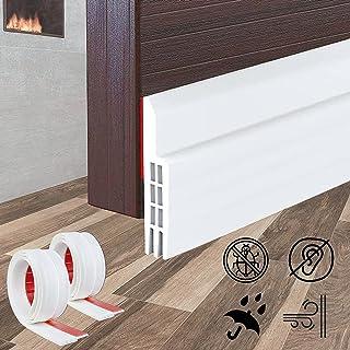2 Pack,Door Draft Stopper | Under Door Seal Under Door Draft Blocker, Soundproof Door Bottom Weather Stripping ,Anti-Mouse...