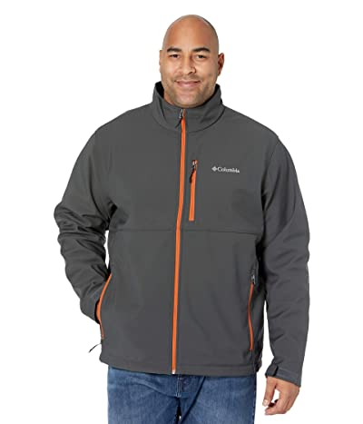 Columbia Big Tall Ascendertm Softshell Jacket (Shark/Harvester) Men