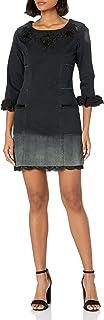 Desigual Women's Agnes Woman Denim 3/4 Sleeve Dress