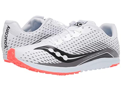 Saucony Kilkenny XC8 Flat (White/Red) Men