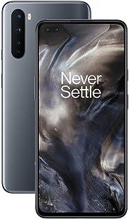 OnePlus NORD (5G) 8 GB RAM 128 GB smartphone utan kontrakt, fyrhjuling, dubbelt SIM. Nu med Alexa Built-in – 2 års garanti...