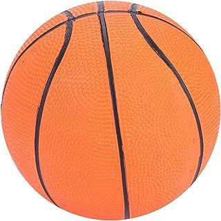 VGEBY1 Baloncesto Infantil, Color clásico Mini Baloncesto Inflable de Goma para niños Miniball Popular Educación temprana Artículos Deportivos para Juegos