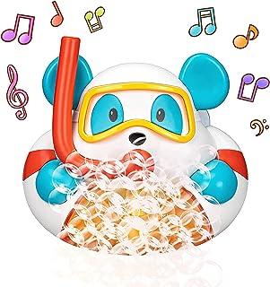 Bathtub Bubble Machine, Bubble Bath Toys with 12 Songs, Bath Bubble Marker Shower Toys for Kids, Blows Bubbles 1000+ per M...