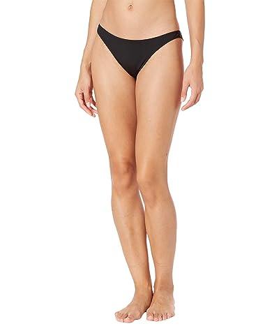 Billabong Sol Searcher Tanga Bikini Bottoms (Black Pebble) Women